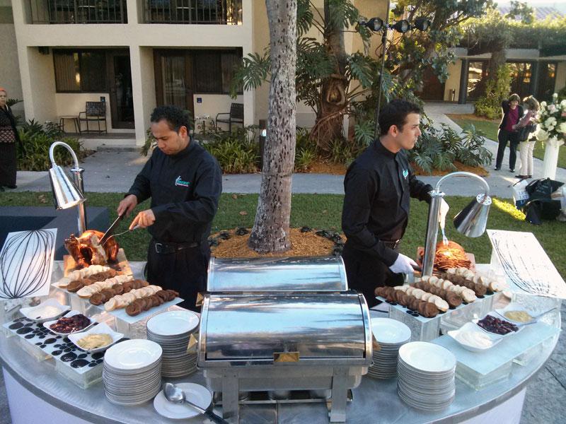 Shaike s kosher catering carving station